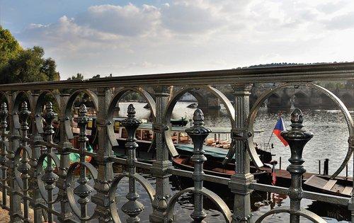 railing  metal  bridge railing
