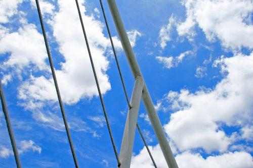 railing of cruise vessel railing white