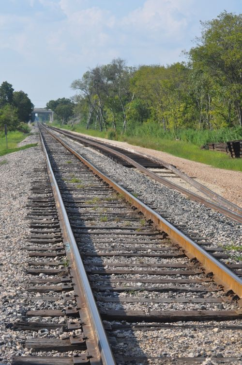 railroad train track