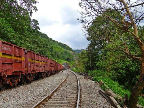 railroad mountains western ghats