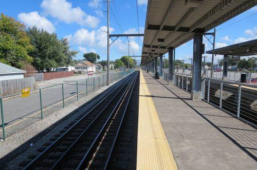railroad railways platform