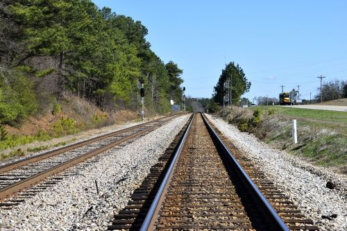 railroad tracks railway