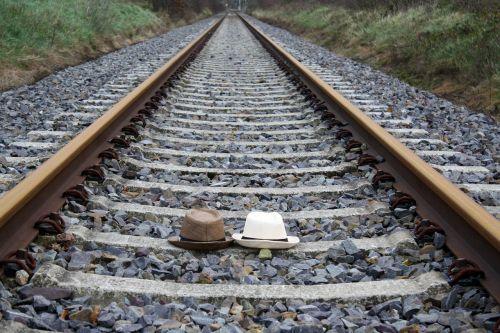 railroad hat straw hat