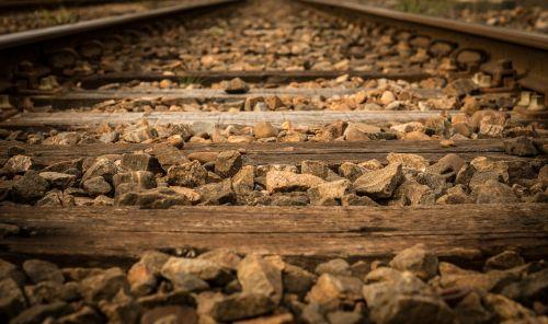 railroad railroad tracks track