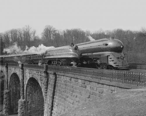 railroad trains vintage
