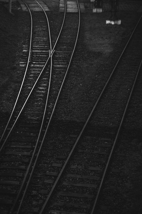 geležinkelis,takelius,bw,vintage,lodz,Lenkija,Lenkija