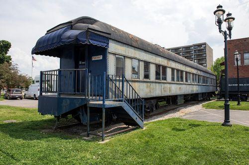 railroad observation car old