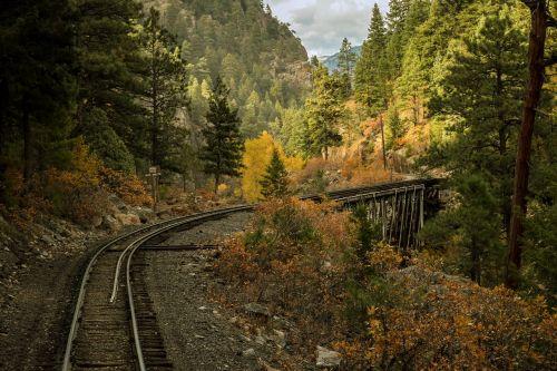railroad bridge scenic railroad narrow guage railroad