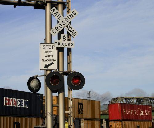 Rail Road Crossing Signs