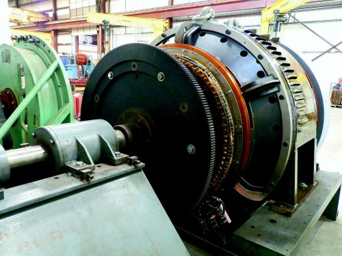 railroad generator test stand generator testing