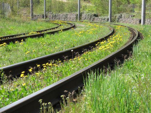 railroad track track seemed