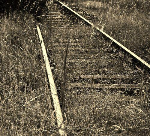 railroad track seemed shut down
