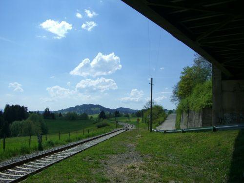 railroad track schienenh breakpoint