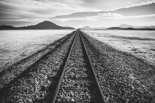railroad tracks railroad track