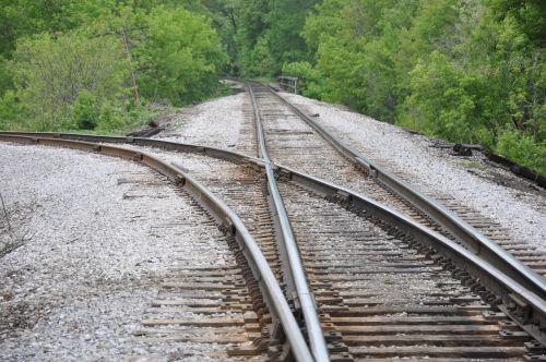 railroad tracks travel transportation