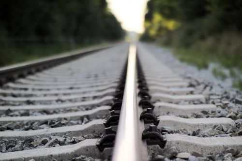railroad tracks gleise travel