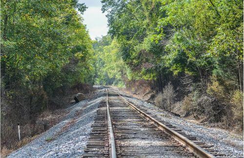 railroad tracks train tracks transportation