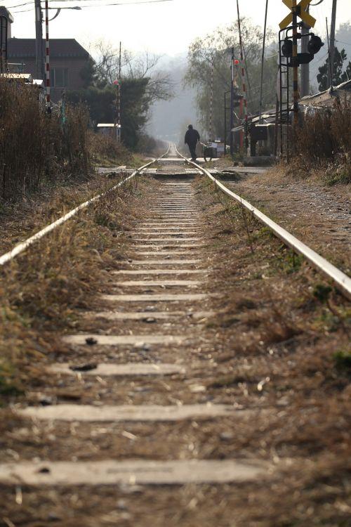 railroad tracks hang dong railway gil