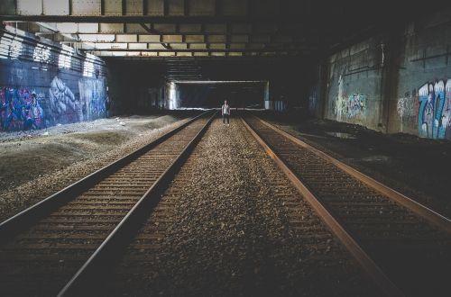 railroad tracks railway railroad