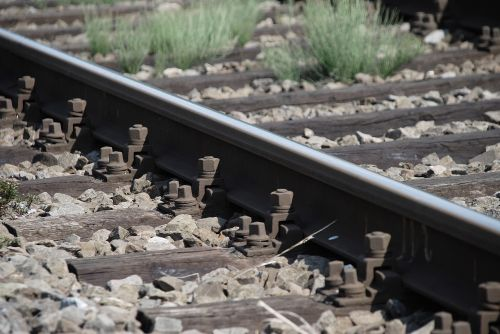 railroad tracks railway rail