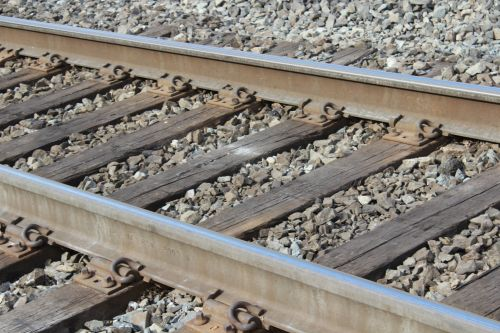 Railroad Tracks - Side View