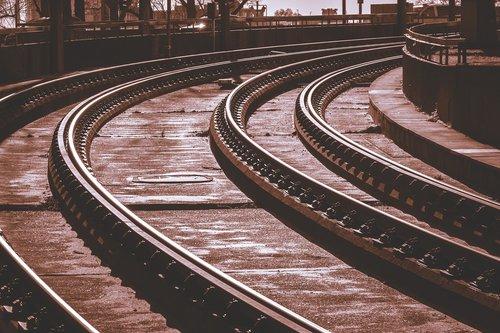 rails  gleise  tram