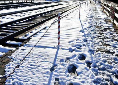 Rails Of Snow