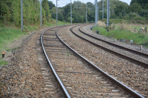 rails railway sncf railway line station
