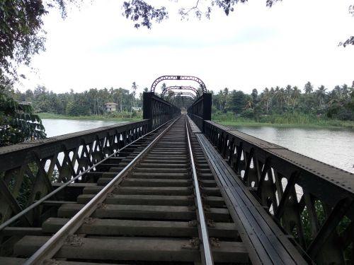 railway leading lines road