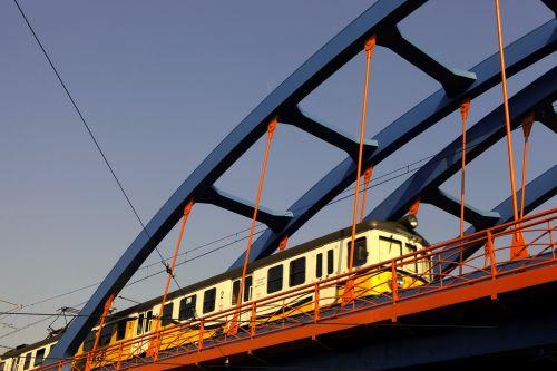 railway the viaduct train