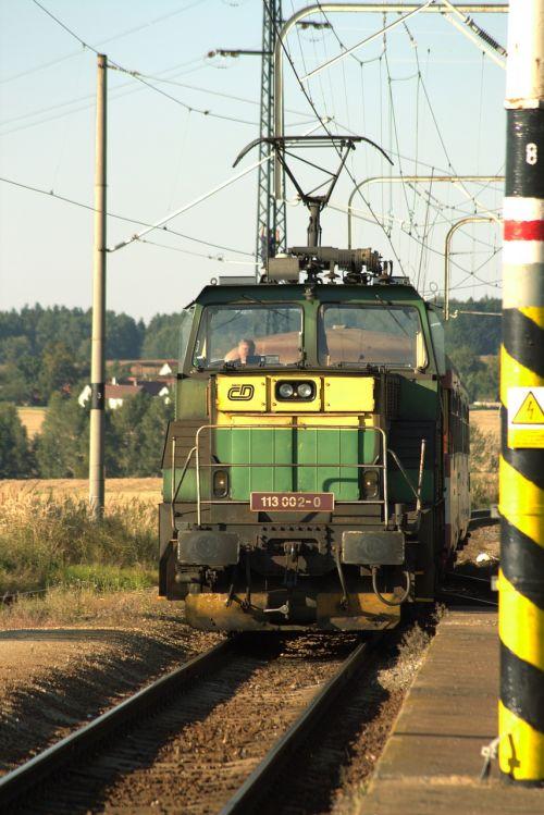 railway locomotive electric locomotive