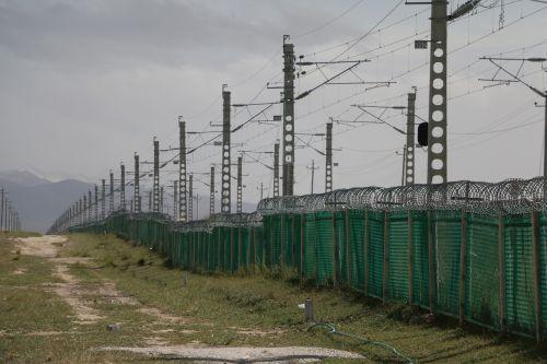 railway fences repeat