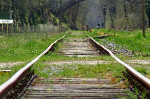 railway transition gleise