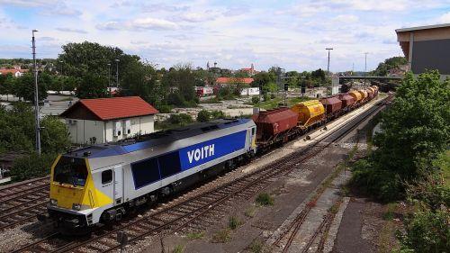railway locomotive voith