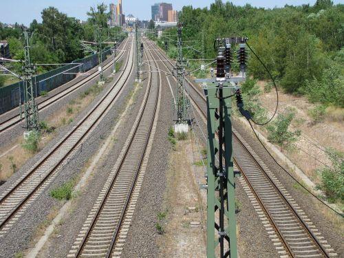 railway seemed gleise
