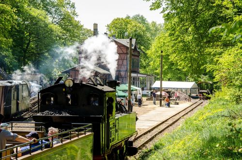 railway historically locomotive