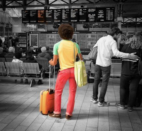 railway travel journey