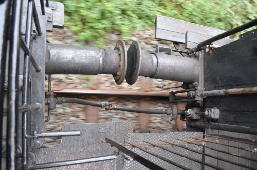 railway steam railway buffer