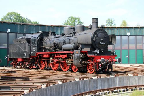 railway steam locomotive traffic