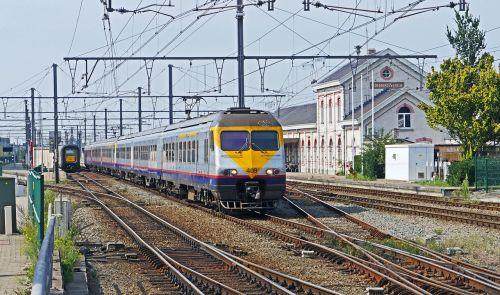 railway belgium regional train