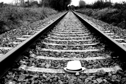 railway,railway line,train,race track,black and white photography,gleise,elbe -weser -triangle,blues,bluesman,bremervörde