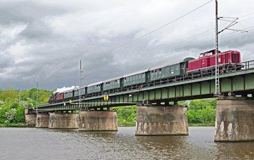 railway  nostalgia ride  mosel bridge