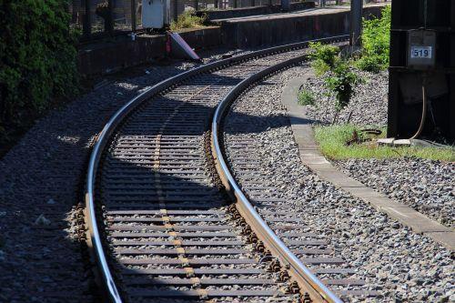 railway seemed railroad tracks