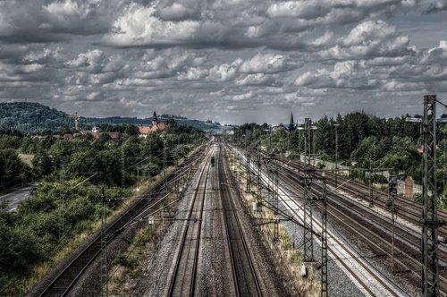 railway  railway line  rails