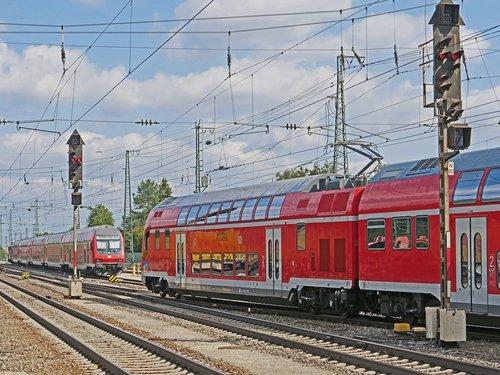 railway  regional train  double decker