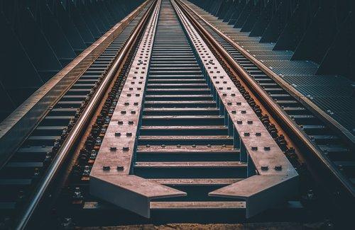 railway  rails  track
