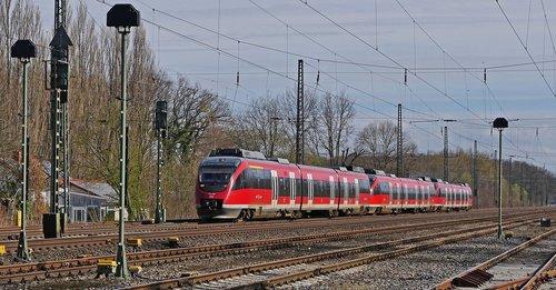 railway  diesel railcar  regional train