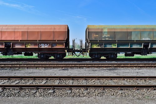 railway  train  transport
