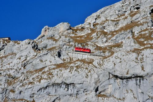 railway steep slope switzerland