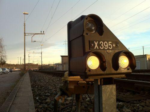railway signal railway station